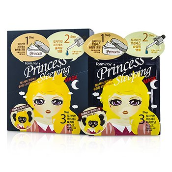 Farm Stay Princess 3-Steps Mask - Sleeping 10pcs