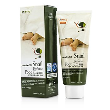 Branig Romantic Perfume Snail Foot Cream 100ml/3.38oz