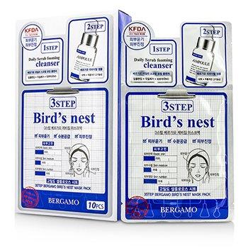 Bergamo 3Step Bergamo Mask Pack - Bird's Nest 10pcs