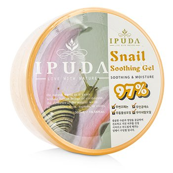 IPUDA 97% Snail Soothing Gel 300ml/10.56oz