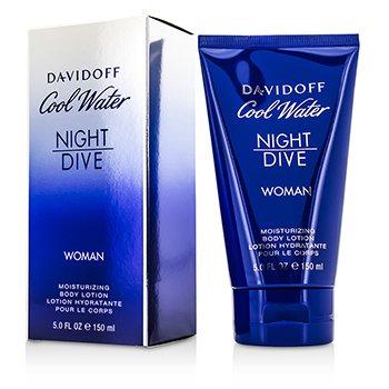 DavidoffCool Water Night Dive Moisturizing Body Lotion 150ml/5oz
