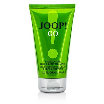 JoopJoop Go Stimulating Hair & Body Shampoo 150ml/5oz