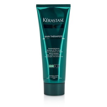 �d�� Resistance Bain Therapiste Balm-In -Shampoo Fiber Quality Renewal Care (For Very Damaged, Over-Porcessed Hair) 250ml/8.5oz