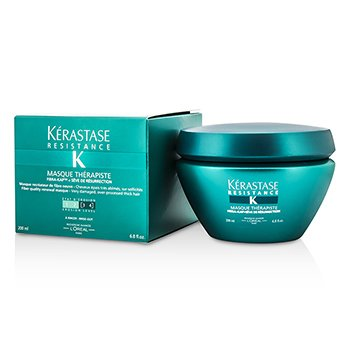 �d��  Resistance Masque Therapiste Fiber Quality Renewal Masque (For Very Damaged, Over-Processed Thick Hair)  200ml/6.8oz