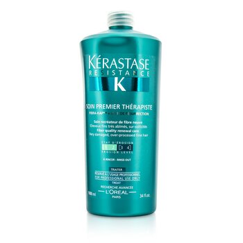 �d��  Resistance Soin Premier Therapiste Fiber Quality Renewal Care (For Very Damaged, Over-Porcessed Fine Hair)  1000ml/34oz
