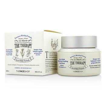 The Face Shop The Therapy Secret-Made Moisturizing & Soothing Facial Mask 120ml/4oz