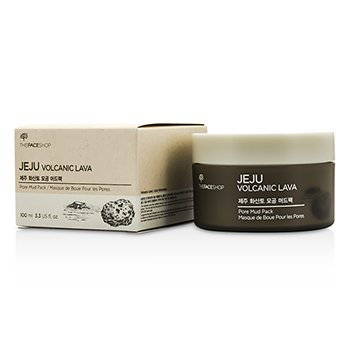 The Face Shop Jeju Volcanic Lava Pore Mud Pack 100ml/3.3oz