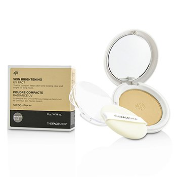 The Face Shop Skin Brightening UV Pact SPF50 – #N203 Natural Beige 11g/0.38oz