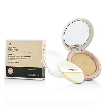 The Face Shop Slim Fit Moist Pact SPF50 – #V201 Apricot Beige 11g/0.38oz