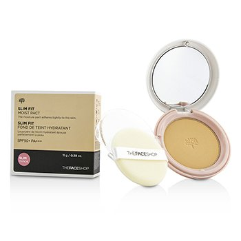 The Face Shop Slim Fit Moist Pact SPF50 – #N203 Natural Beige 11g/0.38oz