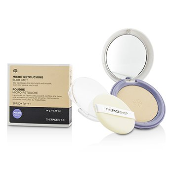 The Face Shop Micro Retouching Blur Pact SPF50 – #V201 Apricot Beige SPF50 14g/0.49oz