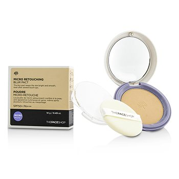 The Face Shop Micro Retouching Blur Pact SPF50 – #N203 Natural Beige 14g/0.49oz