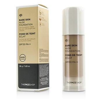 The Face Shop Bare Skin Nude Foundation SPF30 – #N203 Natural Beige 35g/1.23oz