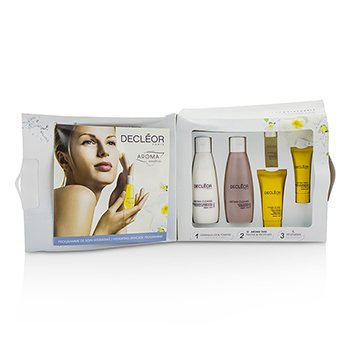 Decleor Hydration Starter Kit: Cleansing Milk + Tonifying Lotion + HydraFloral Cream + Neroli Serum + Neroil Balm (Box Slightly Damaged) 5pcs