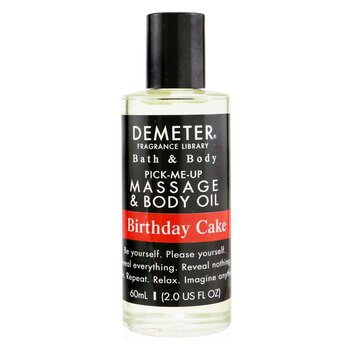 Demeter Birthday Cake Massage & Body Oil  60ml/2oz