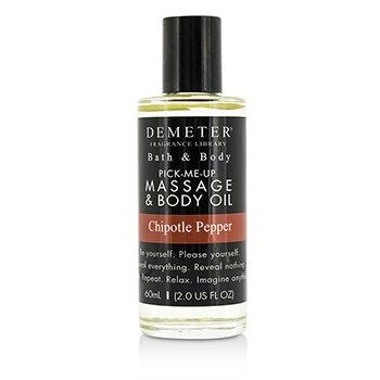 Demeter Chipotle Pepper Massage & Body Oil  60ml/2oz