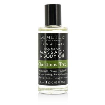Demeter Christmas Tree Massage & Body Oil  60ml/2oz