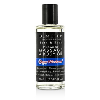 Demeter Clean Windows Massage & Body Oil  60ml/2oz