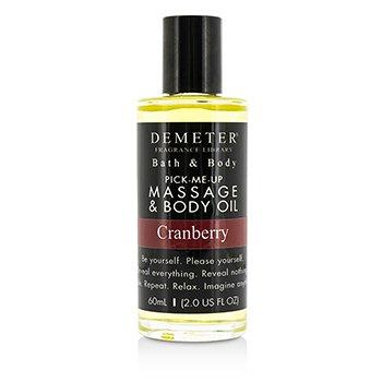 Demeter Cranberry Massage & Body Oil  60ml/2oz