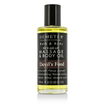 Demeter Devils Food Massage & Body Oil  60ml/2oz