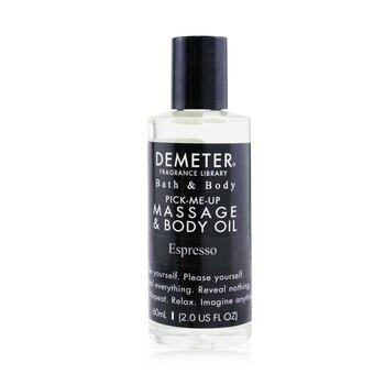 Demeter Espresso Massage & Body Oil  60ml/2oz