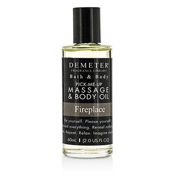 Demeter Fireplace Massage & Body Oil  60ml/2oz