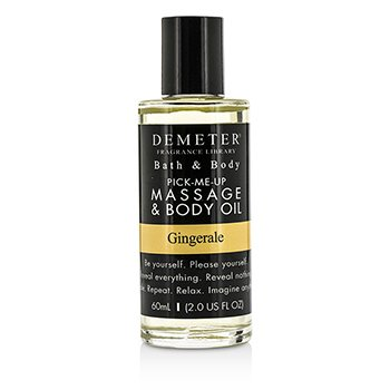 Demeter Gingerale Massage & Body Oil  60ml/2oz