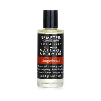Demeter Gingerbread Massage & Body Oil 60ml/2oz