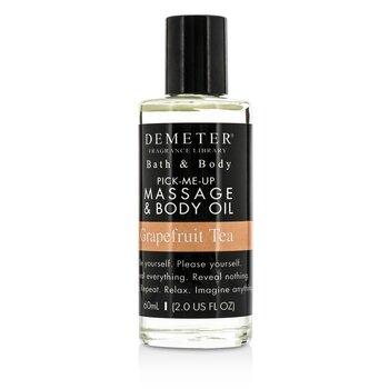 Demeter Grapefruit Tea Massage & Body Oil 60ml/2oz