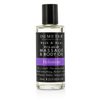 Demeter Heliotrope Massage & Body Oil 60ml/2oz