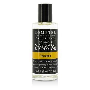 DemeterIncense Massage & Body Oil 60ml/2oz