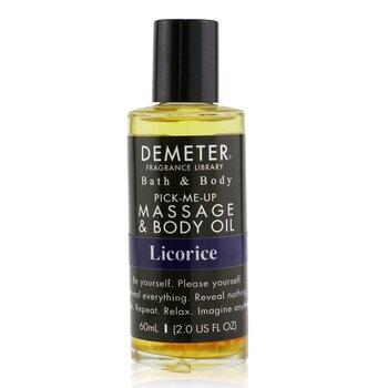 DemeterLicorice Massage & Body Oil 60ml/2oz
