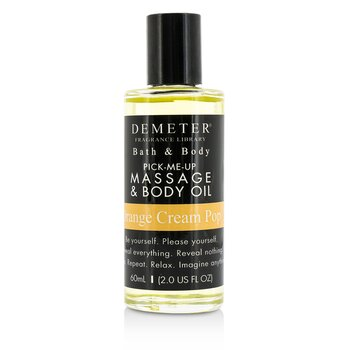 Demeter Orange Cream Pop Massage & Body Oil  60ml/2oz