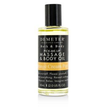 Demeter Orange Cream Pop Massage & Body Oil  60ml/2oz