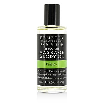 Demeter Parsley Massage & Body Oil 60ml/2oz