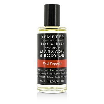 Demeter Red Poppies Massage & Body Oil  60ml/2oz