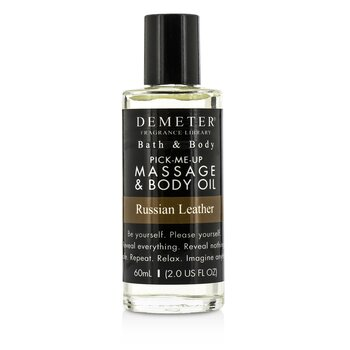 DemeterRussian Leather Massage & Body Oil 60ml/2oz