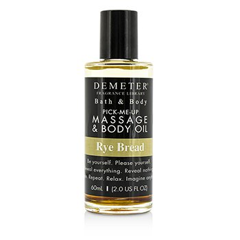 Demeter Rye Bread Massage & Body Oil  60ml/2oz