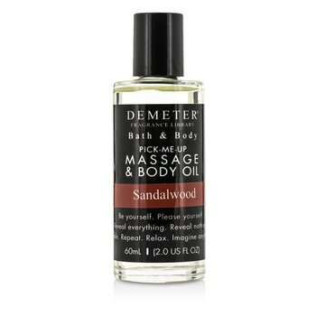 Demeter Sandalwood Massage & Body Oil 60ml/2oz
