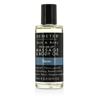 Demeter Snow Massage & Body Oil  60ml/2oz