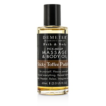 Demeter Sticky Toffee Pudding Massage & Body Oil  60ml/2oz