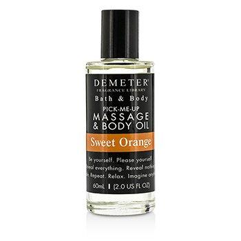 DemeterSweet Orange Massage & Body Oil 60ml/2oz