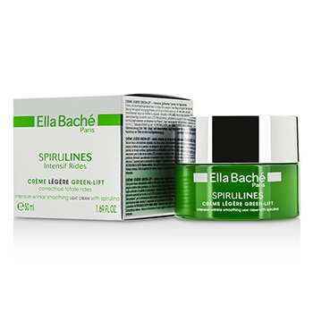 Ella Bache Spirulines Intensif Rides Creme Legere Green-Lift Intensive Wrinkle Smoothing Light Cream 50ml/1.69oz