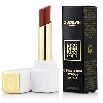 Guerlain KissKiss Roselip Hydrating & Plumping Tinted Lip Balm – #R372 Chic Pink 2.8g/0.09oz