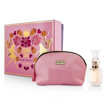 Anna Sui Secret Wish Fairy Dance Coffret: Eau De Toilette Spray 30ml/1oz + Bolsa Para Cosm�ticos  1pc+1pouch