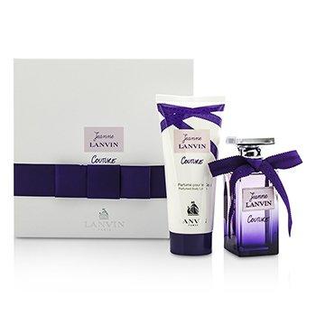 Lanvin Jeanne Lanvin Couture Coffret: Eau De Parfum Spray 50ml/1.7oz + Body Lotion 100ml/3.3oz  2pcs