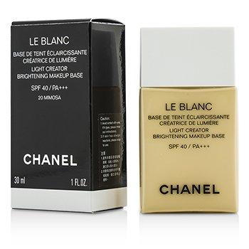 ���� ���ͧ��� Le Blanc Light Creator Brightening Makeup Base SPF40 - #20 Mimosa  30ml/1oz