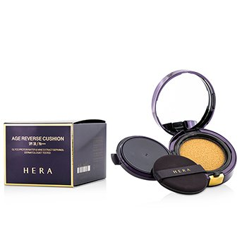 Hera Age Reverse Cushion SPF38 With Extra Refill – #C21 Pink Vanilla Cover 2x15g/0.5oz