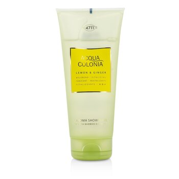 Image of 4711 Acqua Colonia Lemon & Ginger Aroma Shower Gel 200ml/6.8oz