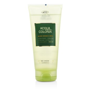 Image of 4711 Acqua Colonia Blood Orange & Basil Aroma Shower Gel 200ml/6.8oz